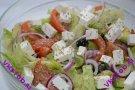 Салат а-ля греческий с авокадо