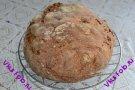 Хлеб со смешанной мукой с тыквенными семечками на закваске