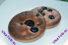 Мягкое печенье с черной смородиной