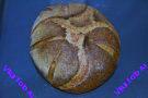 Хлеб из гречневой муки на закваске