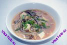 Мисо-суп с лапшой и сыром Тофу