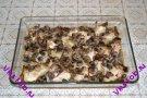 Куриные крылышки с луком и грибами