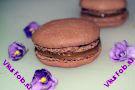 Шоколадные макаруны с карамельным кремом рецепт