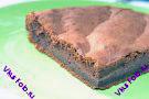 Шоколадный бисквит с минимальным содержанием муки