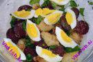 Теплый салат Английский завтрак
