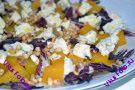 Салат из тыквы с радикьо и сыром