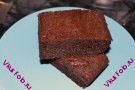 Пирог с шоколадом и какао