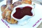 Соус из красной смородины с луком и чесноком к мясу рецепт