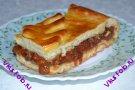 Пирог из дрожжевого теста с калиной