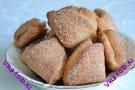 Сахарно-коричное печенье из творожного теста рецепт