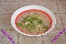 Суп куриный с кольраби