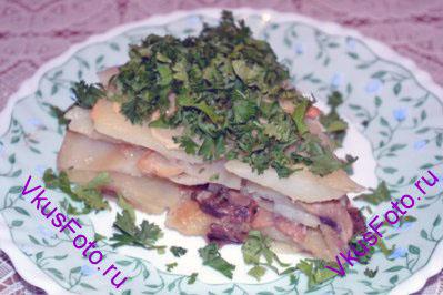 Картофельно-грибной