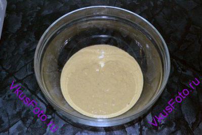Тесто поставить в теплое место на 1,5 часа для подъема.
